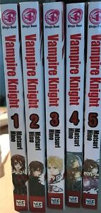 PRICE REDUCED Vampire Night Volume 1-5; Manga