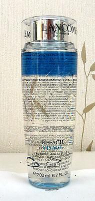 Lancome Bi-facil Visage Bi-Phase Micellaire Water 200ml Size - New SPECIAL PRICE