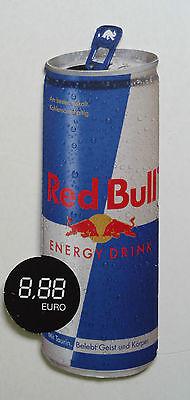 Red Bull Werbeschild aus Pappe / Schild   siehe Foto