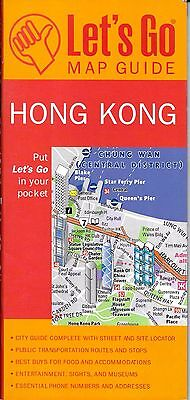 Map of Hong Kong, by Let's Go