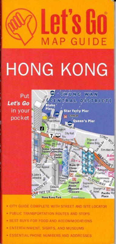 Map of Hong Kong, by Let