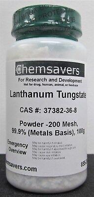 Lanthanum Tungstate Powder -200 Mesh 99.9 Metals Basis 100g