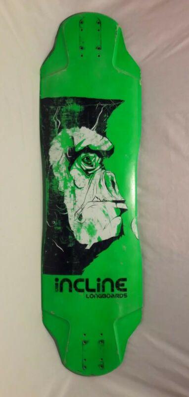 Incline Longboard Flat Top
