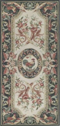 """1:12, 1"""" Scale Dollhouse Miniature Rug Runner approx. 4-1/4"""" x 8-7/8 - 0002527"""