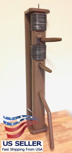 Wing Chun Wooden FULL RECOIL WALL Dummy