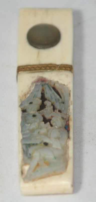 ANTIQUE~~Mother of Pearl Unique Needle case~~ 19TH CENTURY FRANCE