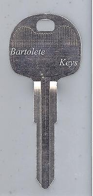 Replacement Key Blank Fits Chevrolet Gmc Tiltmaster Isuzu Npr
