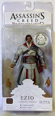 Ezio Legendary Assassin Unhooded Assassin's Creed Brotherhood 7 Figure Tru 2011