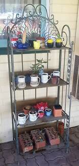 WROUGHT IRON PLANT STANDS $65 EACH