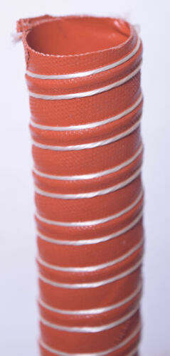 """Flexflyte L9 2Ply Silicone Coated Fiberglass Hose w/ Helically Wound Spring 113"""""""