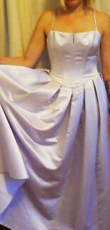 WEDDING GOWN  SILVER MAUVE