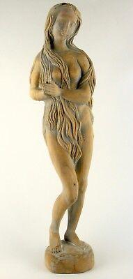 """große handgeschnitzte Heiligenfigur """"Hl. Maria Magdalena"""", Höhe 71cm"""