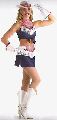 Mustang Sally Cowboy Cowgirl Jazz Tap Dance Costume Halloween Adult L & XL - Halloween Jazz Dance