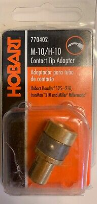 Hobart 770402 Contact Tip Adapter Handler 125 135 140 175 Ironman 210 Weld