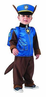 Rubies Paw Patrol Chase Schäferhund Jungen Kinder Halloween Kostüm 610502 (Junge Hund Halloween-kostüme)