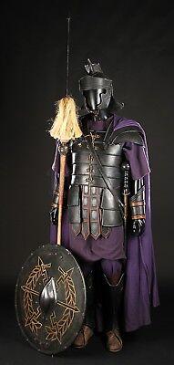 Roman Gladiator movie prop Praetorian Guard armor sword pilum shield costume