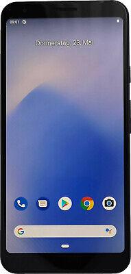 Google Pixel 3a XL Dual Sim 64GB black schwarz ohne Simlock Android Smartphone