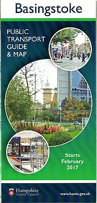 BASINGSTOKE 2017 PUBLIC TRANSPORT GUIDE & MAP