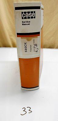 Case 580 Ck 580ck Loader Backhoe Service Manual Burl. 9-72565 1276