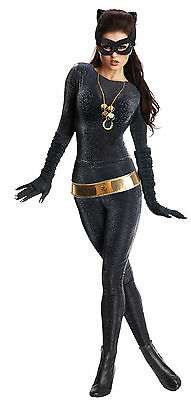 Halloween DC COMICS BATMAN CATWOMAN GRAND HERITAGE ADULT WOMEN Large COSTUME