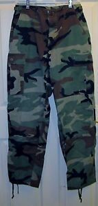 USMC-MARINE-CORPS-Woodland-Camouflage-Pants-Size-Small-Regular-FREE-Shipping