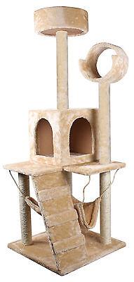 "52"" Deluxe Cat Tree Condo Furniture Scratch Scratching Post Pet House W/Hammock"