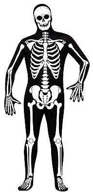 Cobra Kai Halloween Costume (Skeleton Skin Suit Adult Mens Costume Cobra Kai Karate Kid Bodysuit)