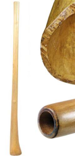 Handmade Didge Teak 59 inch natural