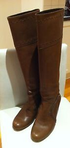 Stunning Scanlan & Theodore Leather Boots Size 37, 7us 2016 $550 Mentone Kingston Area Preview