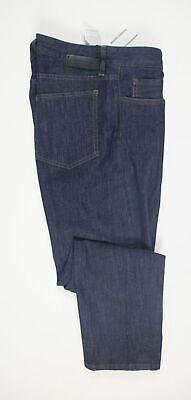 NWT Mauro Grifoni Men's Blue Cotton Denim Jeans Pants Dark Wash Size 34