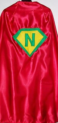 Adult Superhero Cape Personalized Custom Costume Accessory Office Gag Gift  - Personalized Superhero Cape