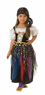 Gypsy Child Girls Costume NEW Fortune - Gypsy Girl Costume