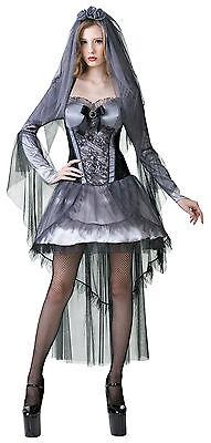 Sexy Dark Bride Horrorbraut Kostüm NEU - Damen Karneval Fasching Verkleidung - Neue Sexy Kostüm