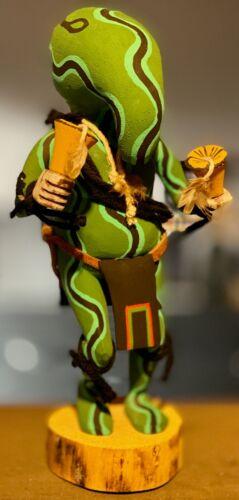 Hopi Squash Kachina Doll – Art Yowytewa – Hand Carved Native American Katsina