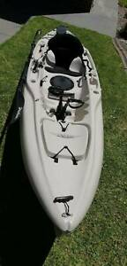 Hobie Outback Kayak with mirage drive and sail kit