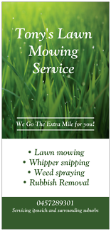 LAWN MOWING~RUBBISH REMOVAL