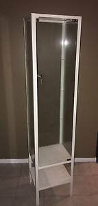Tall Glass Lockable Display Cabinet Ikea Spring Farm Camden Area Preview