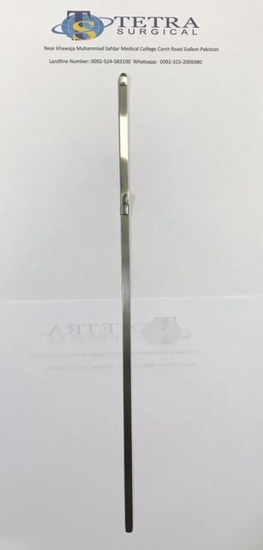 Bailey Gigli Saw Guide instrument 32 cm Surgical dental, orthopedic instrument