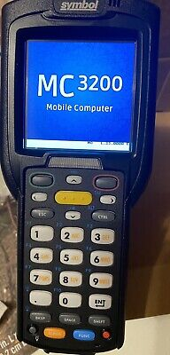 Symbol Mc32n0-gl4hcle0a Windows 7 Handheld Touch Screen Computer And Scanner