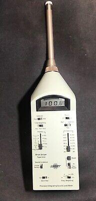 Bruel Kjaer 2233 Precision Integrating Sound Level Meter With Extra Mics.