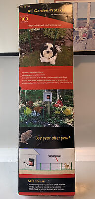 Zareba Kgpacz Ac Garden Protector Electric Fence Kit Nuisance Or Small Anima...