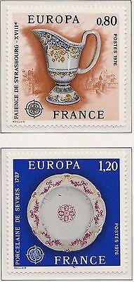 Europa CEPT 1976 Ambachten Frankrijk 1961-1962 - Postfris  MNH