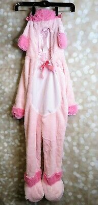 2t Puppy Costume (Pink Poodle Plush Halloween Puppy Dog Costume Size 2T)
