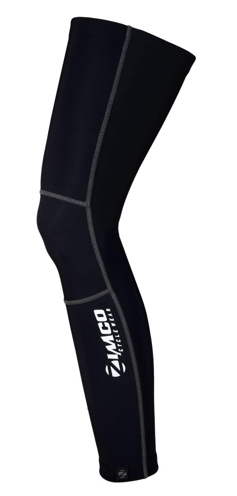 Zimco Cycling Super Roubaix Leg Warmers Thermal Fleece Bicycle Leg Sleeve White