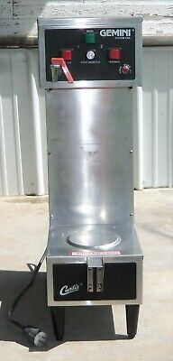 Curtis Gemini System Stainless Steel Coffee Brewer Maker Gem-120a Commerical