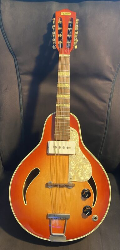 Early 1960's Carvin/Hofner Electric Mandolin