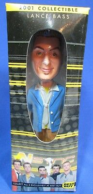 2001 Collectible Bobblehead – N'Sync – Lance Bass – NRFB – Best Buy