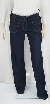 Denim Jeans Skinny Flare Leg Low Rise 2 Button Zipper Fly 4 Pocket New York   Co