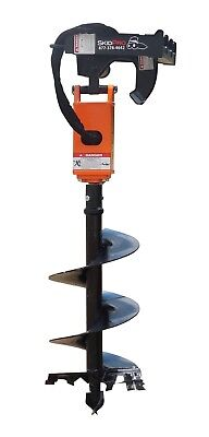 Nc300 2 Hex Planetary Drive Earth Auger Skid Steer Loader Bobcat Kubota Case