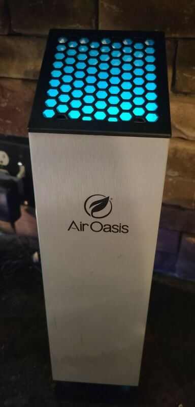 Air Oasis Filterless Air Purifier + Cleaner A01000G3 | Complete + Working Well